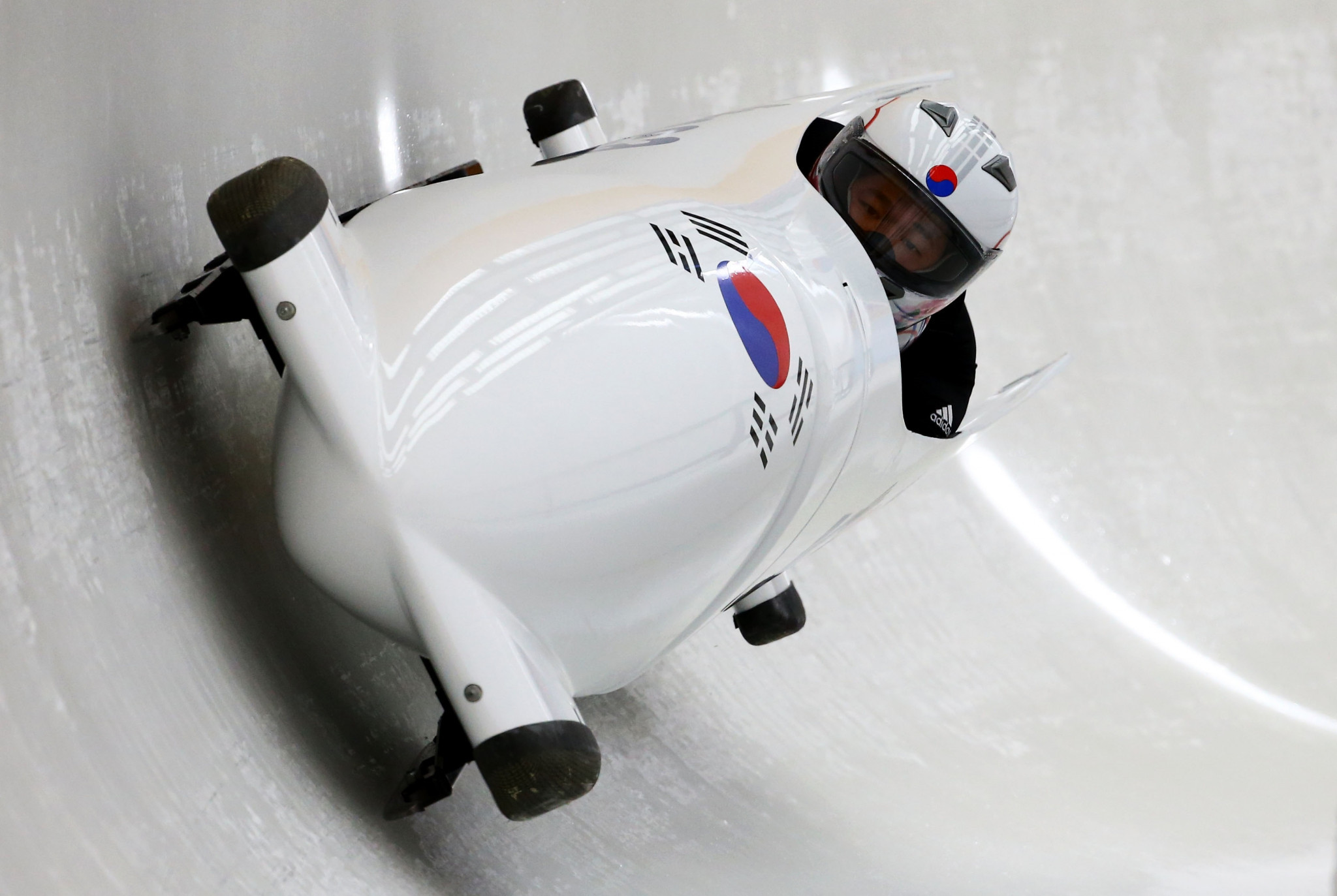 North Korea and South Korea could share a four-man sled to test conditions before bobsleigh competition starts at the Pyeongchang 2018 Winter Olympic Games