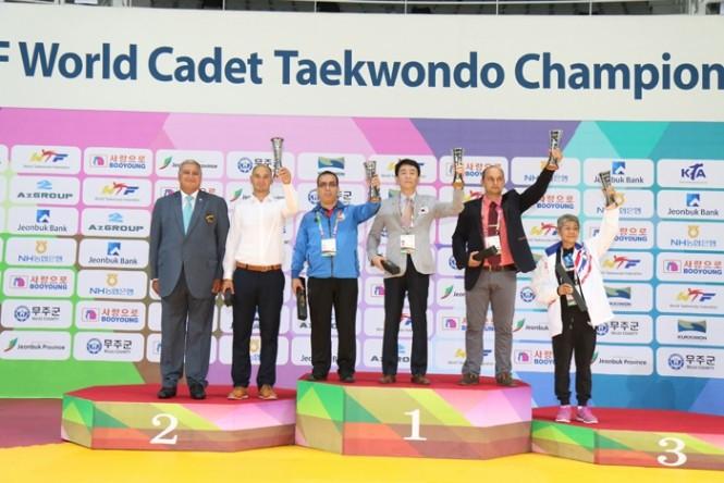 South Korea won the overall men's title at the World Cadet Taekwondo Championships ©WTF