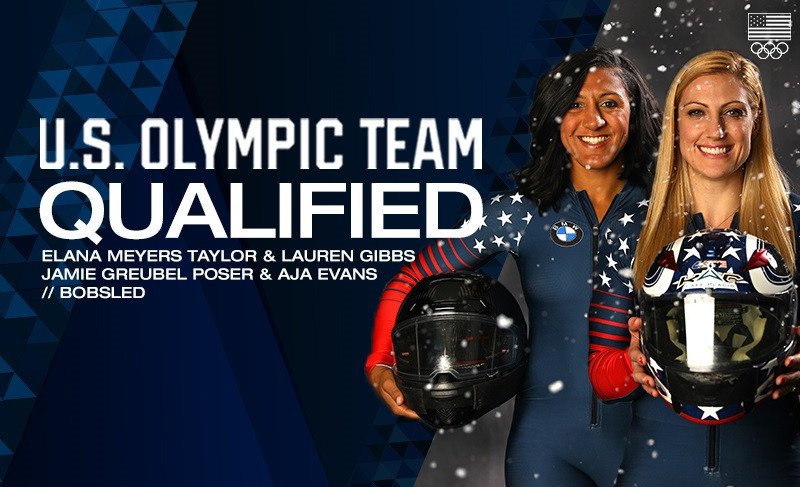 United States confirm women's bobsleigh line-up for Pyeongchang 2018