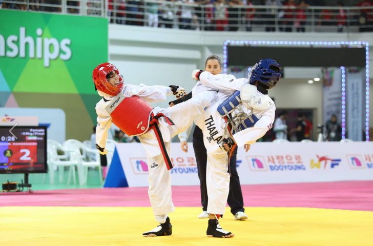 The World Cadet Taekwondo Championships drew a total of 465 athletes, aged between 12 and 14, from 59 countries