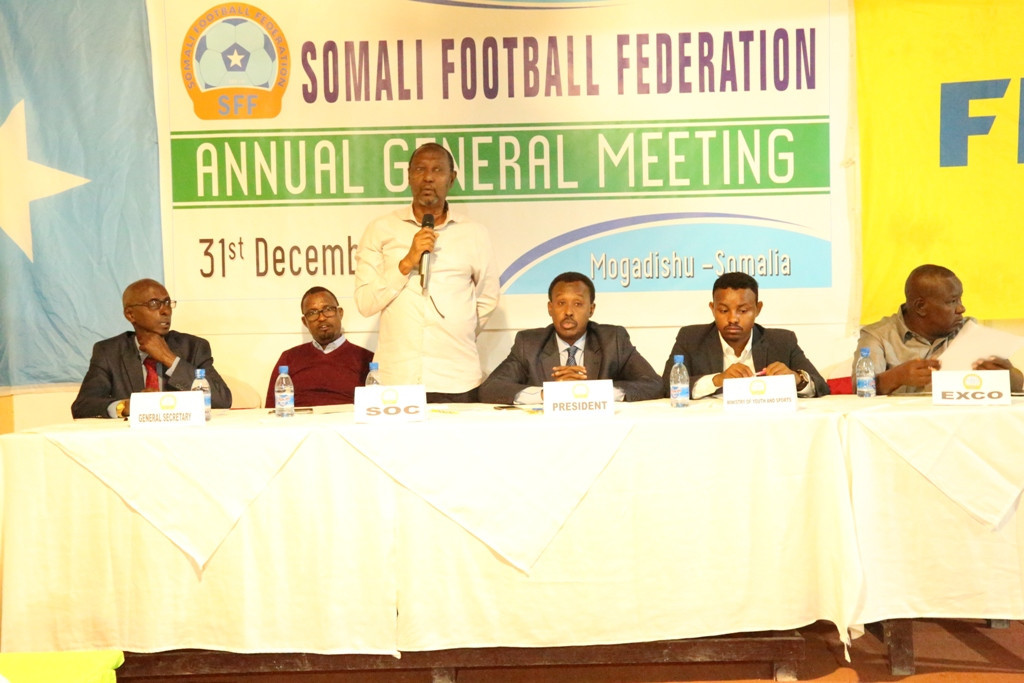 Somali National Olympic Committee President praises country's football work