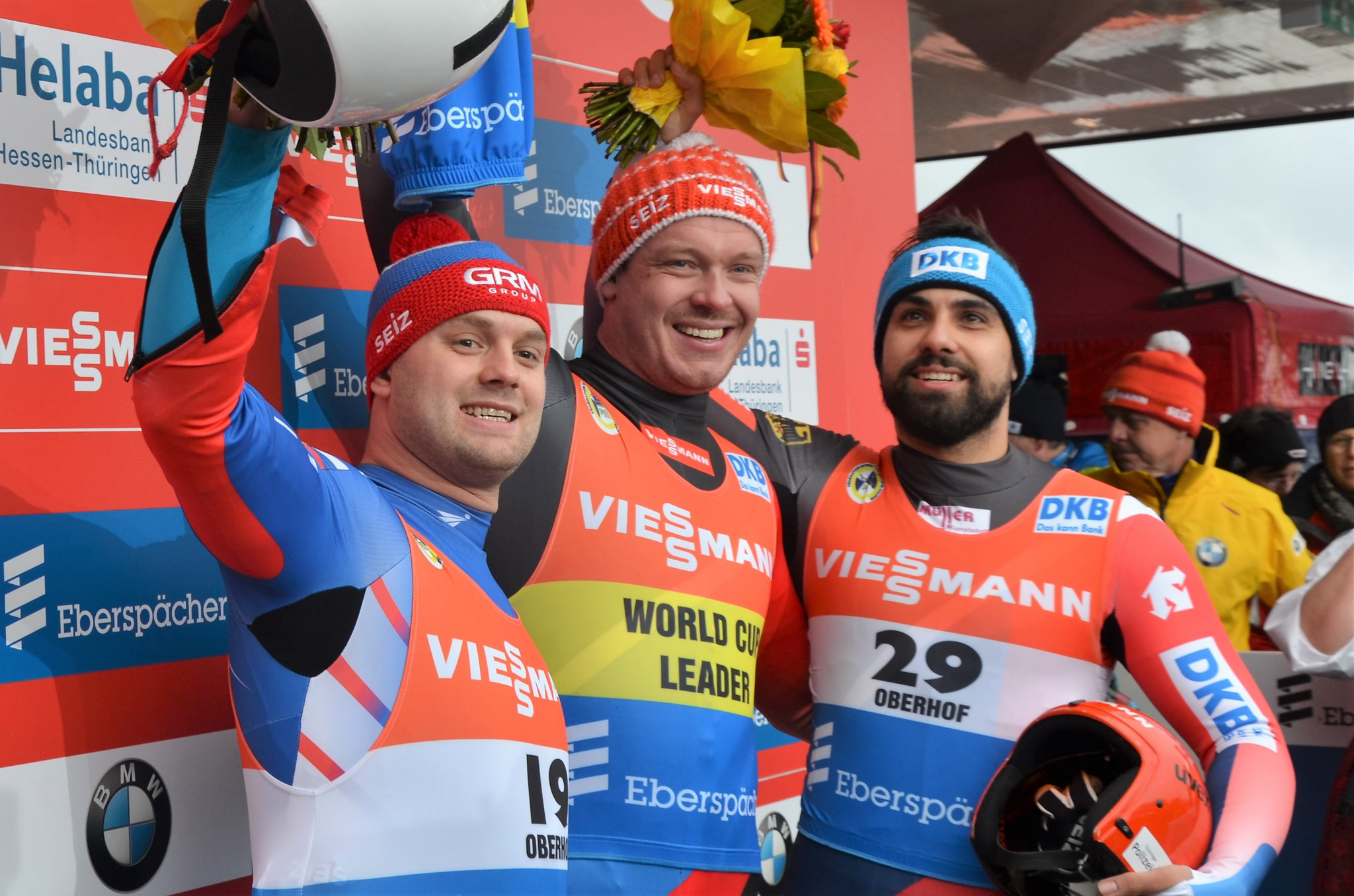 Olympic champion Loch increases FIL World Cup lead with home win in Oberhof