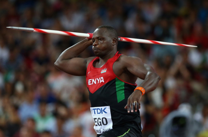 Julius Yego of Kenya won the javelin world title with 92.72m, the best in 14 years ©Getty Images