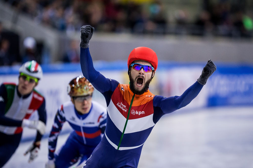 Knegt and Fontana crowned overall winners at European Short Track Championships
