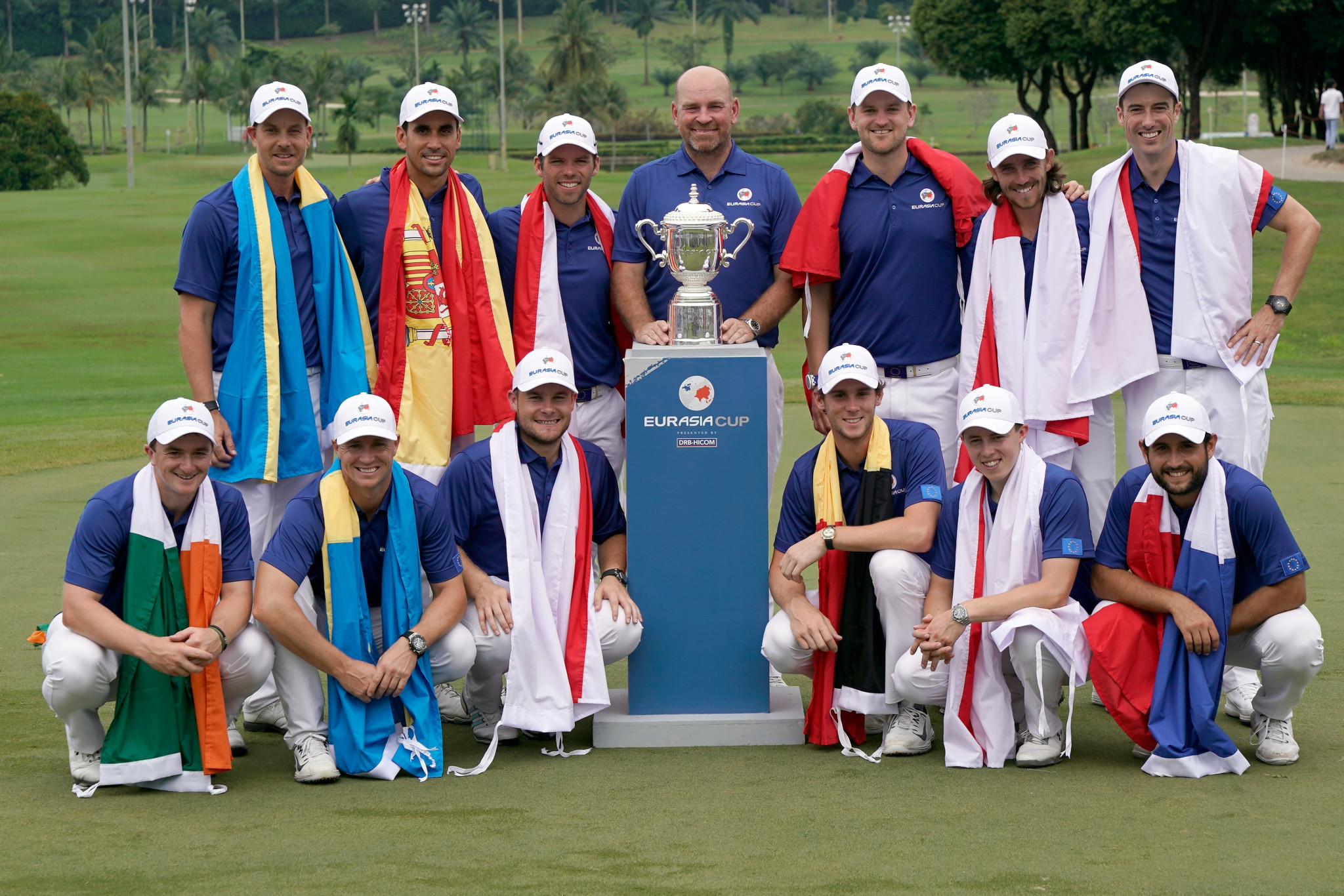 China's Li Haotong helps Team Asia lead in Eurasia Cup
