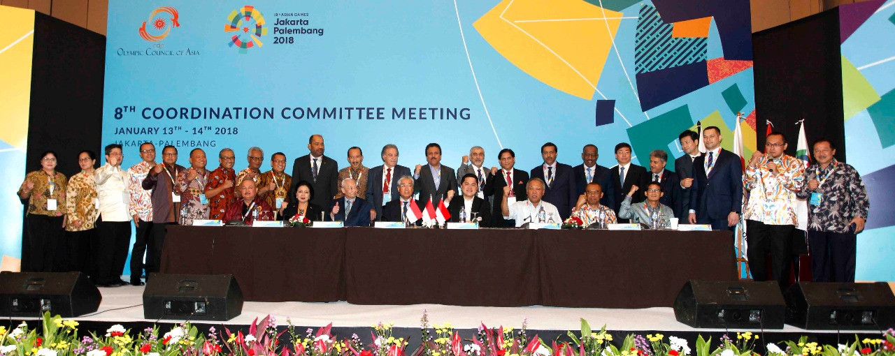 "OCA ""very satisfied"" with 2018 Asian Games preparations in Jakarta and Palembang"