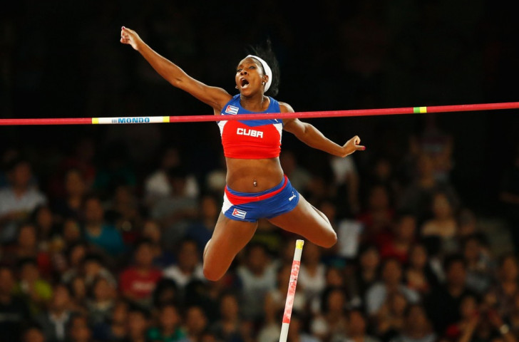 Silva into gold - Cuba's Yarisley Silva, second in the pole vault in London 2012, goes one better in Beijing ©Getty Images