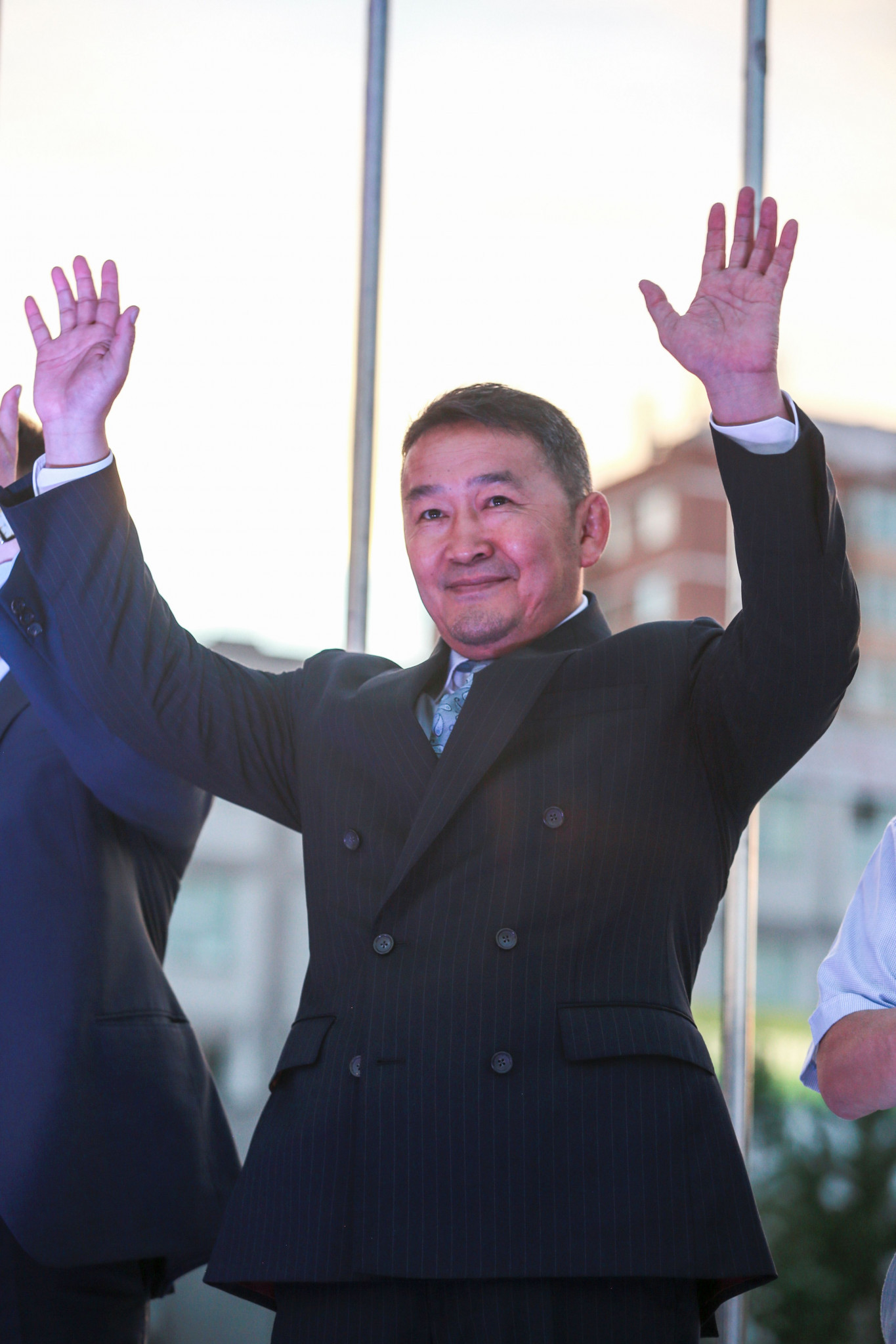 Battulga Khaltmaa became Mongolia's leader in July of last year ©Getty Images