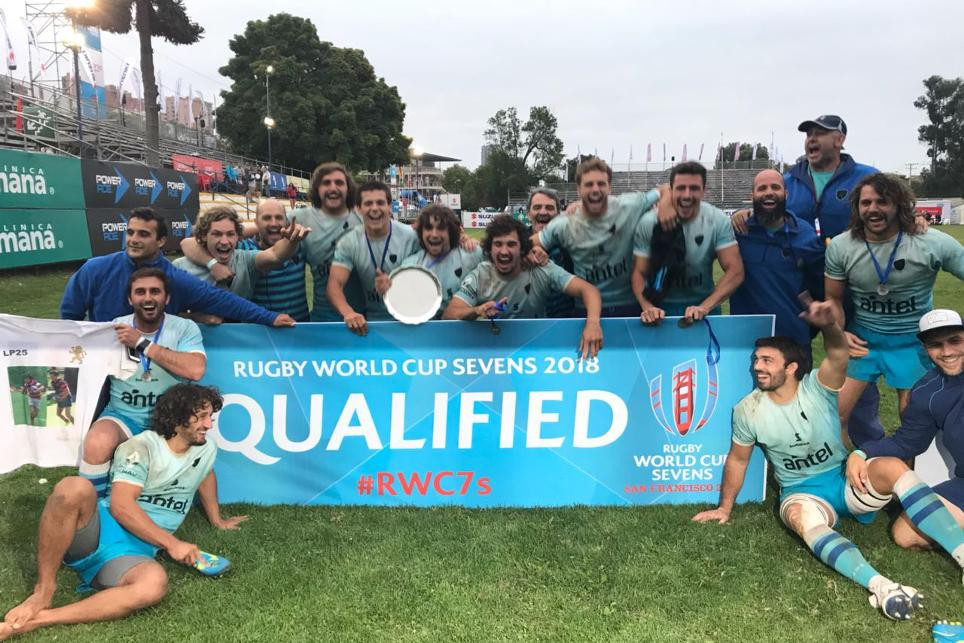 Uruguay managed to reach the semi-finals of the Viña del Mar Sevens, ensuring they finished as the top-ranked South American team in third place overall ©World Rugby