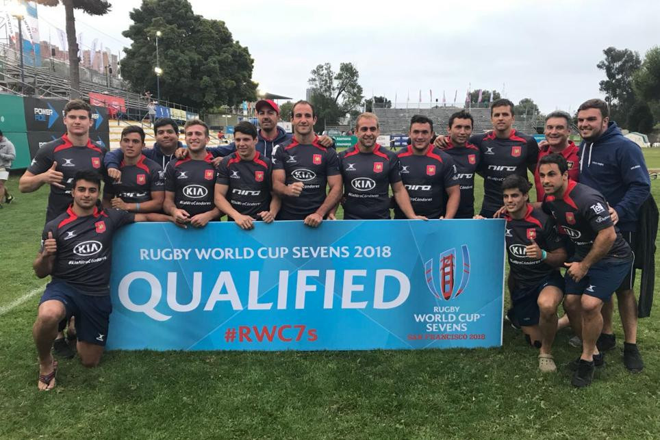 A seventh-place finish at the Viña del Mar Sevens was enough for Chile to secure a spot at the 2018 Rugby World Cup Sevens ©World Rugby