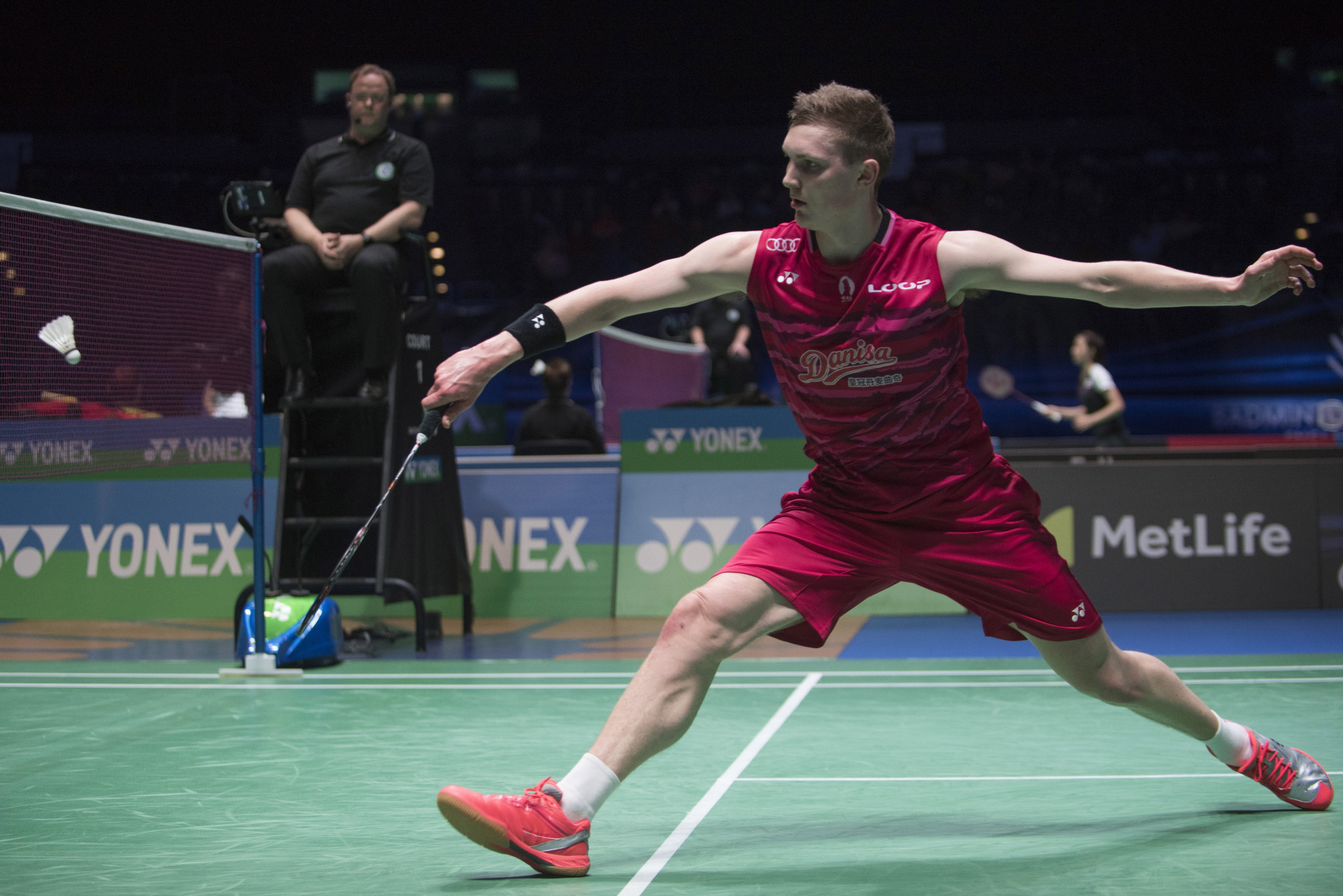 Axelsen rampant on day two of 2020 BWF World Tour Finals