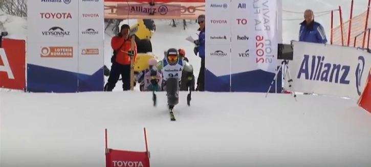Morii and Pedersen share giant slalom gold on day one of World Para Alpine Skiing World Cup in Veysonnaz