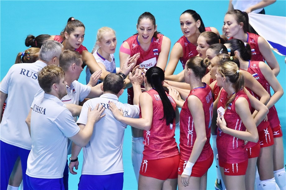 Russia have yet to taste defeat at the FIVB Women's World Cup in Japan ©FIVB