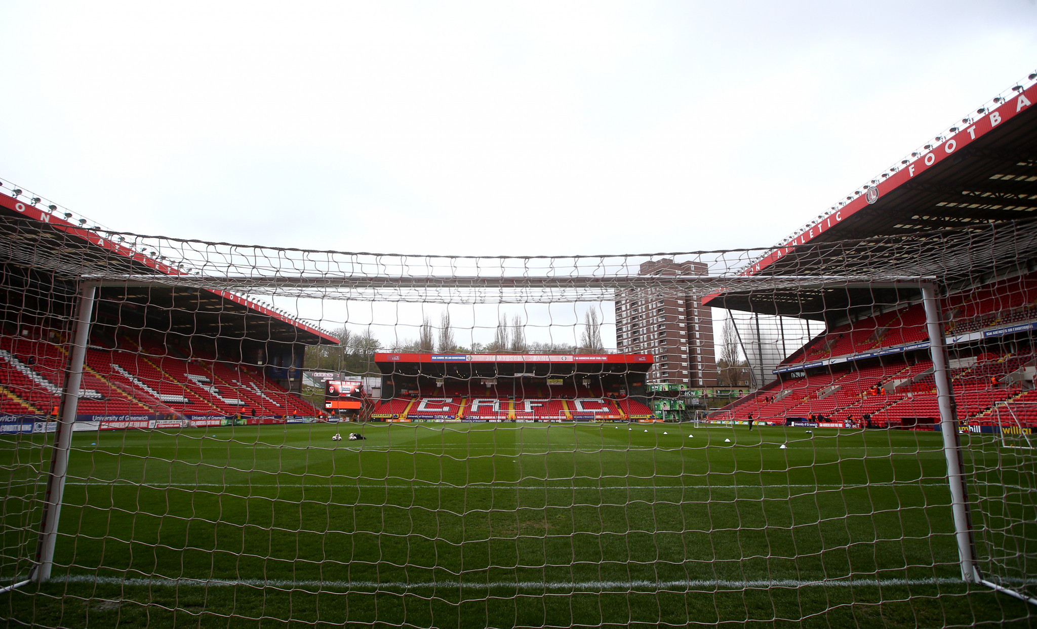 Charlton Athletic's The Valley is tipped to stage matches ©Getty Images