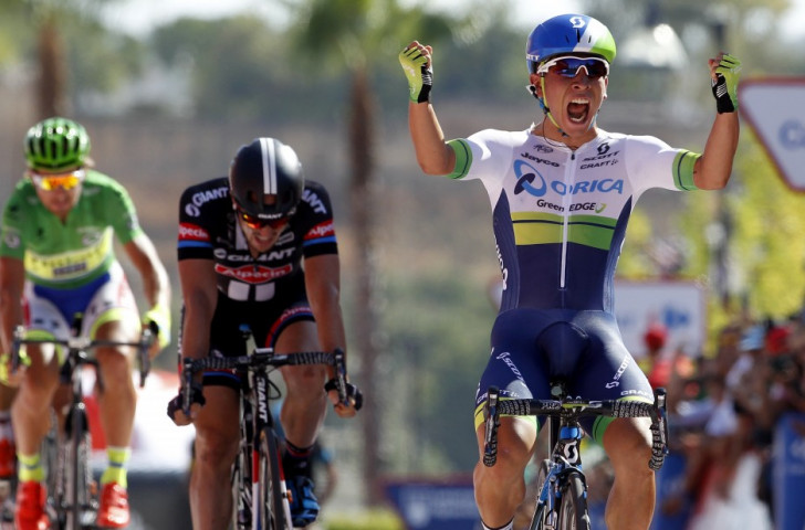 Caleb Ewan claims maiden Grand Tour stage win as Tom Dumoulin seizes overall lead at Vuelta a España