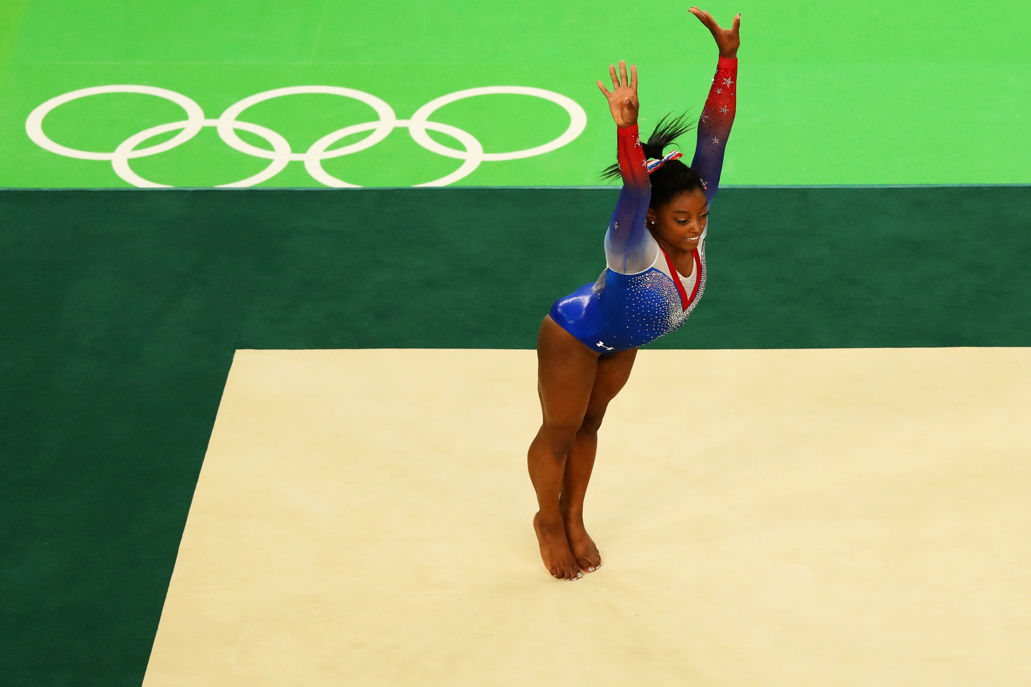 Simone Biles won four Olympic gold medals at Rio 2016 ©Getty Images