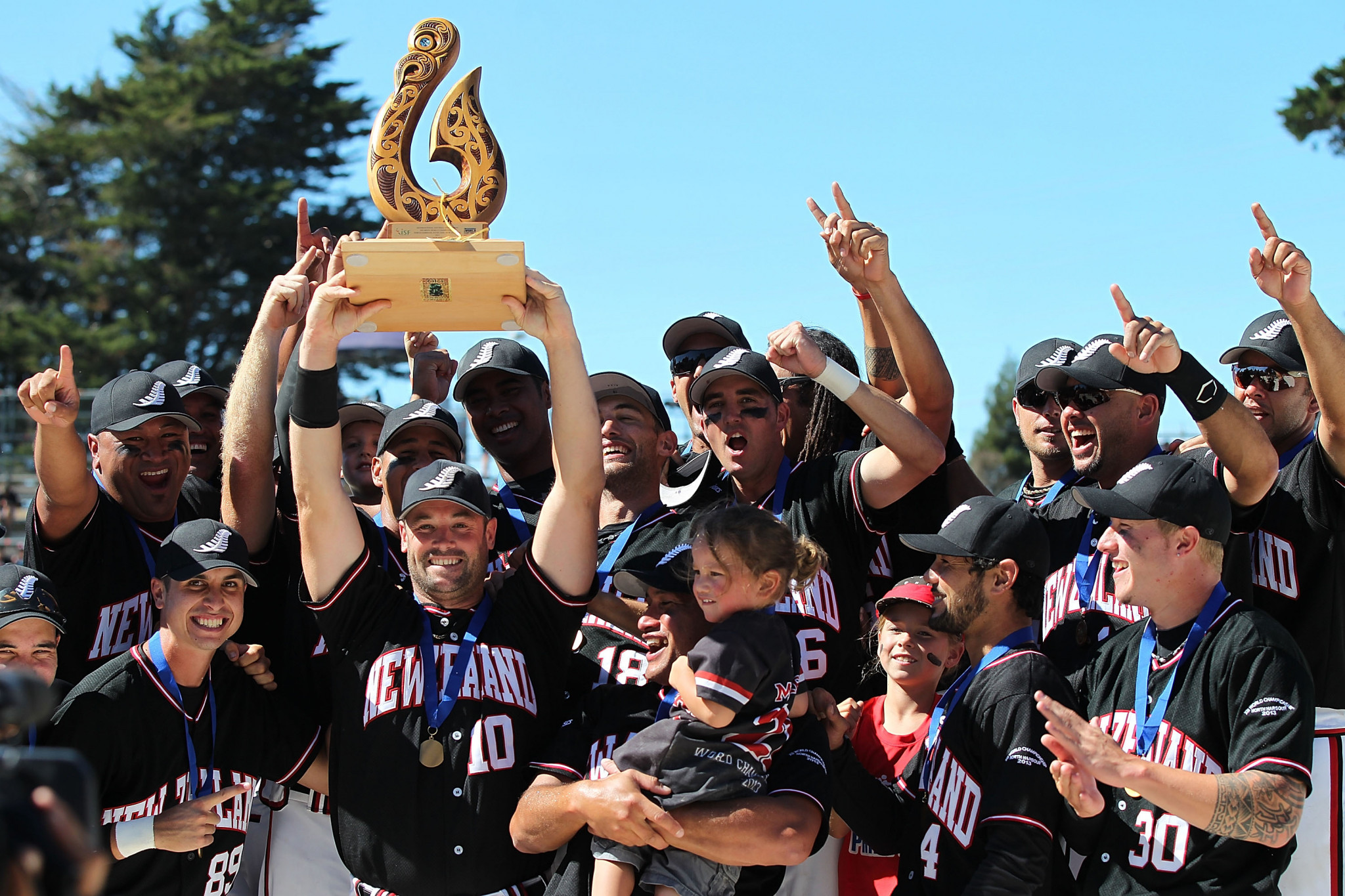 New Zealand remain men's softball world number one