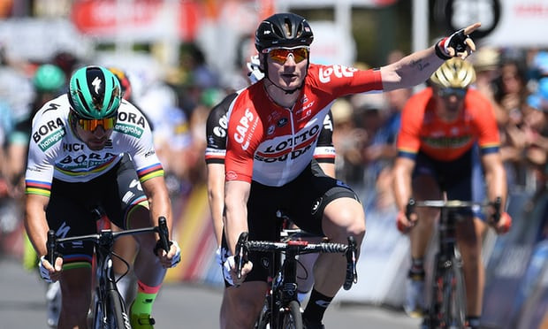 Greipel breaks Tour Down Under record in opening stage win