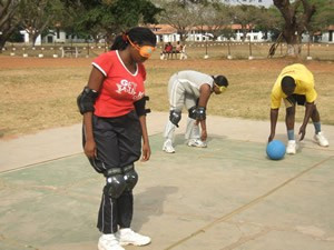 Goalball introduced to Ghana University Games