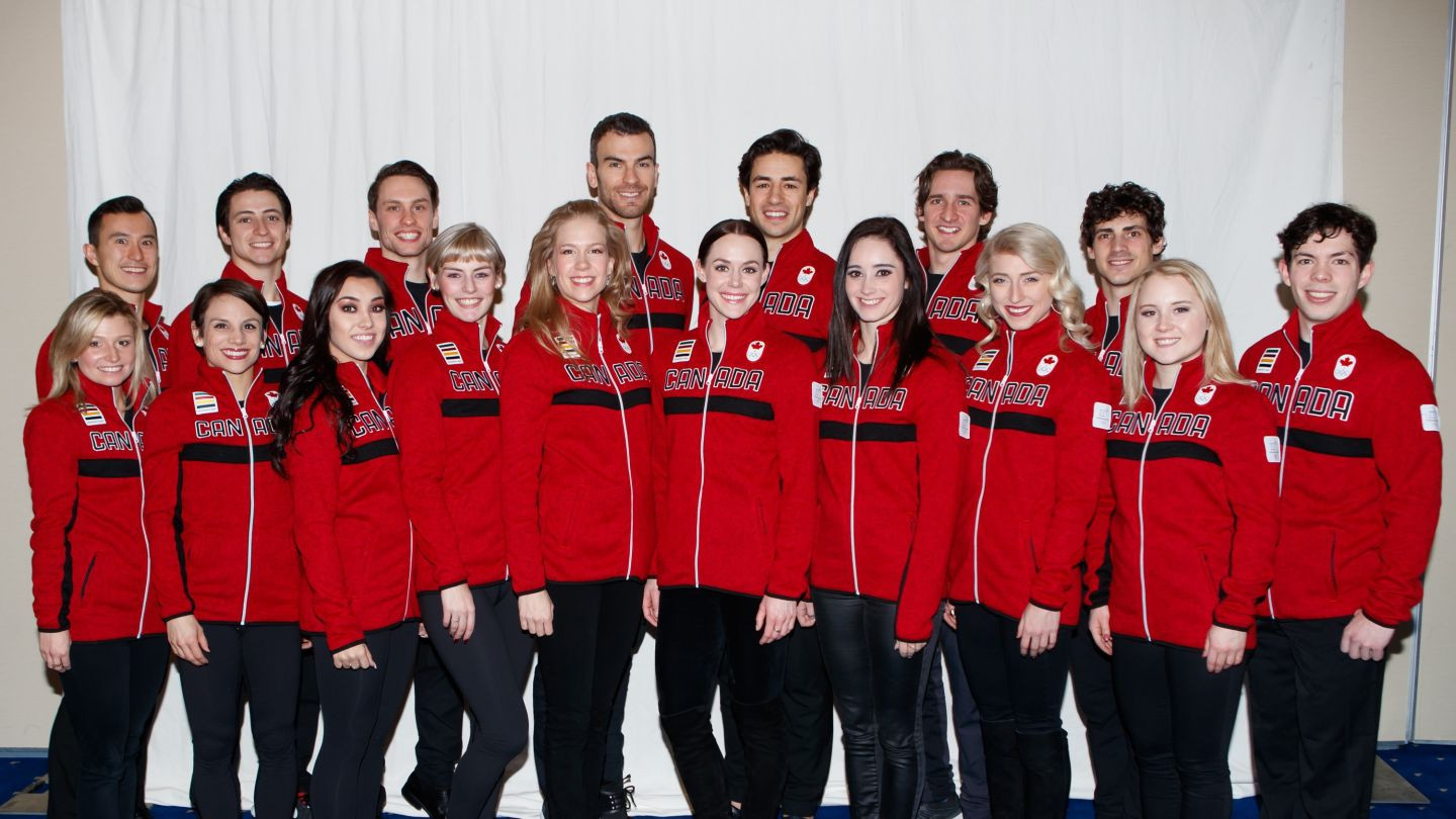 Canada have named a 17-strong figure skating team for next month's Winter Olympic Games in Pyeongchang ©Skate Canada