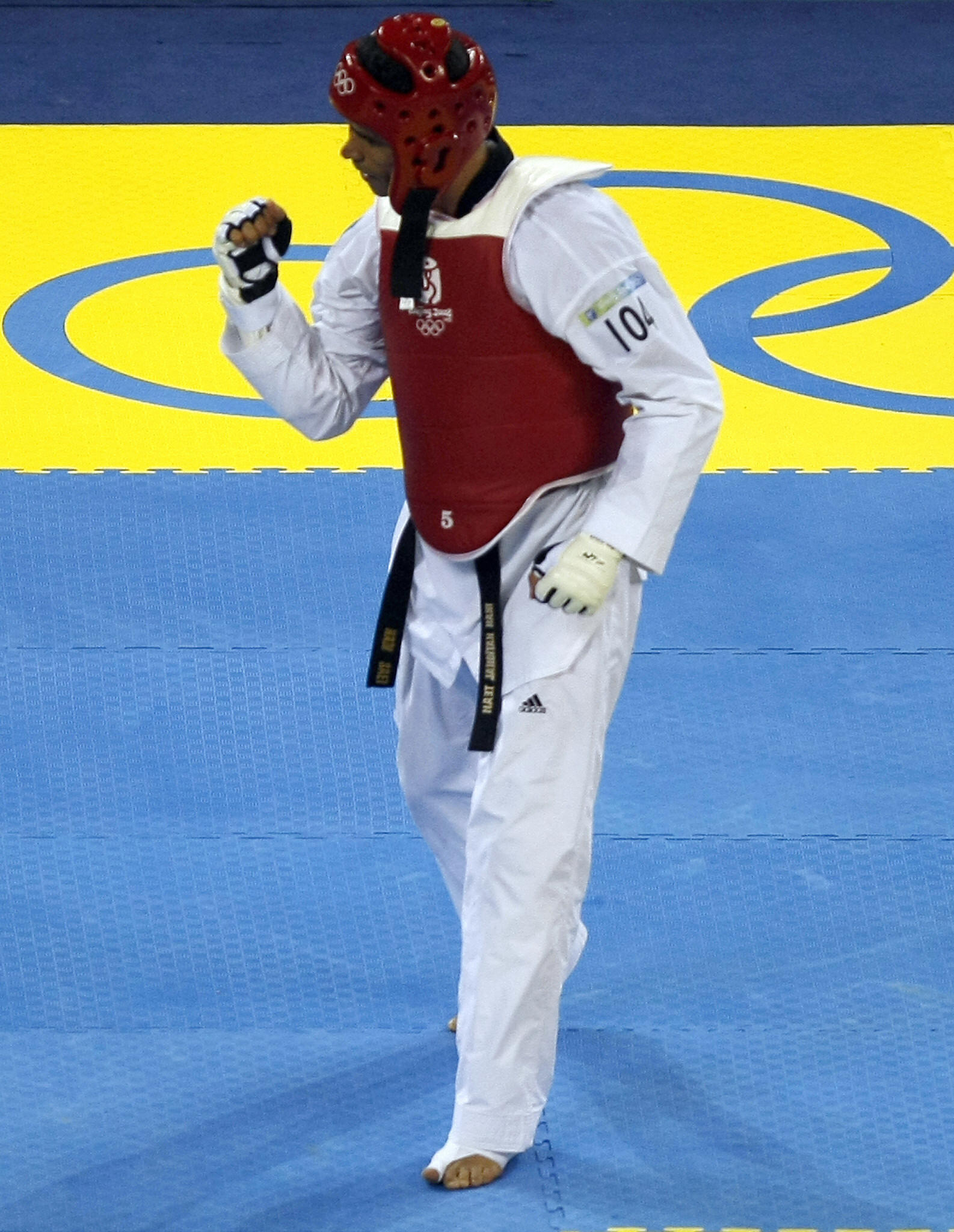 Taekwondo's Hadi Saei is Iran's most successful Olympian  ©Getty Images