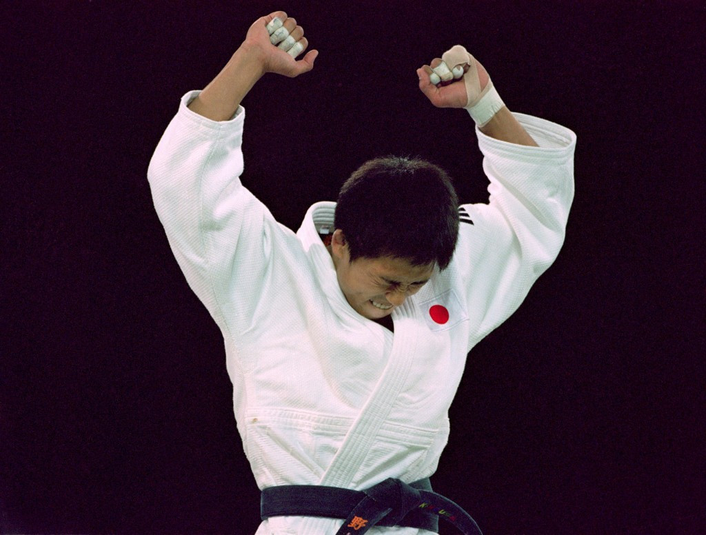 The Japanese star won his gold medal bout at Sydney 2000 in the first 15 seconds