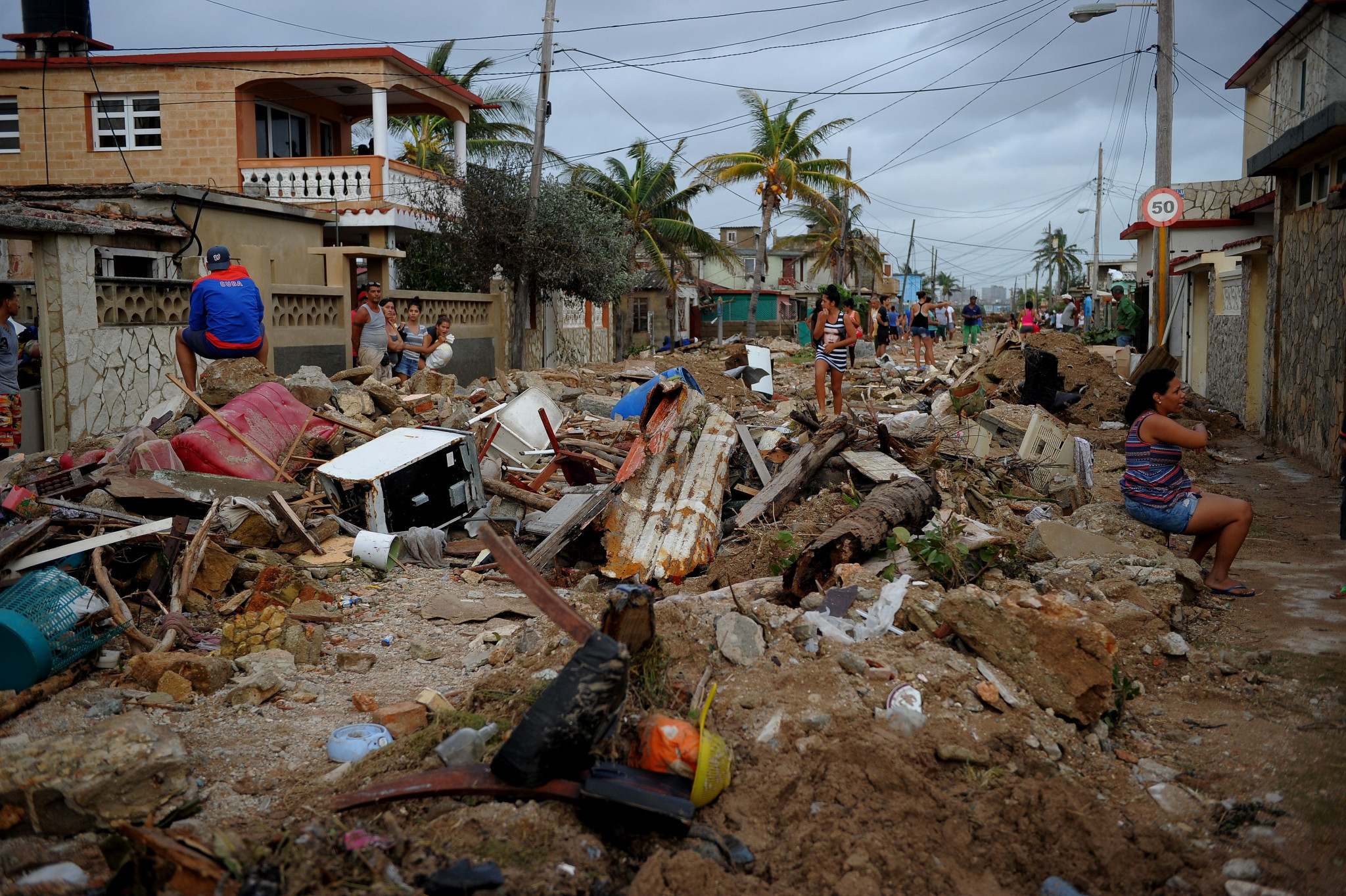Parts of North and Central America and the Carribean were devasted by four hurricanes last year ©Getty Images