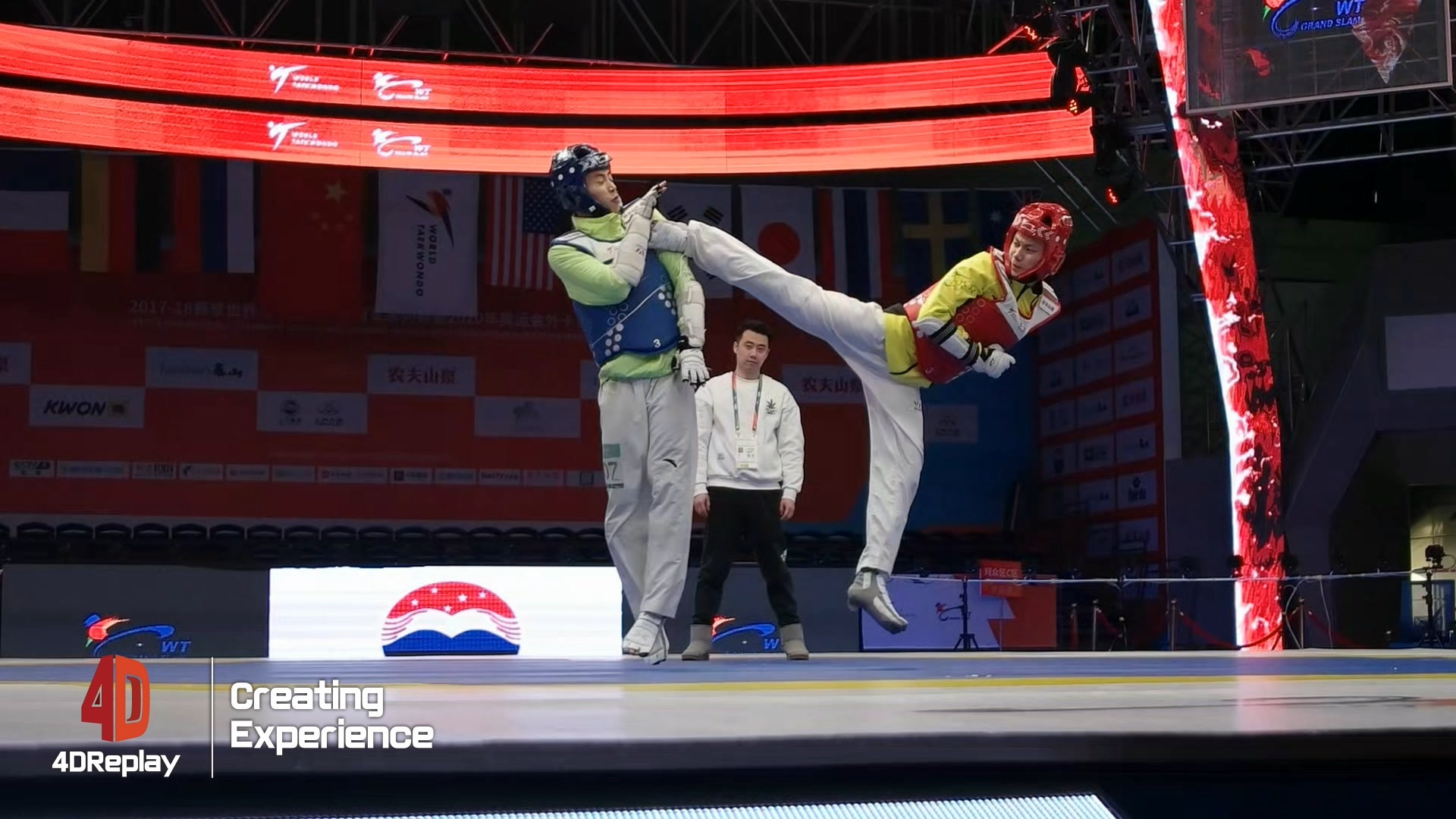 Choue praises World Taekwondo's innovation following launch of 4D cameras