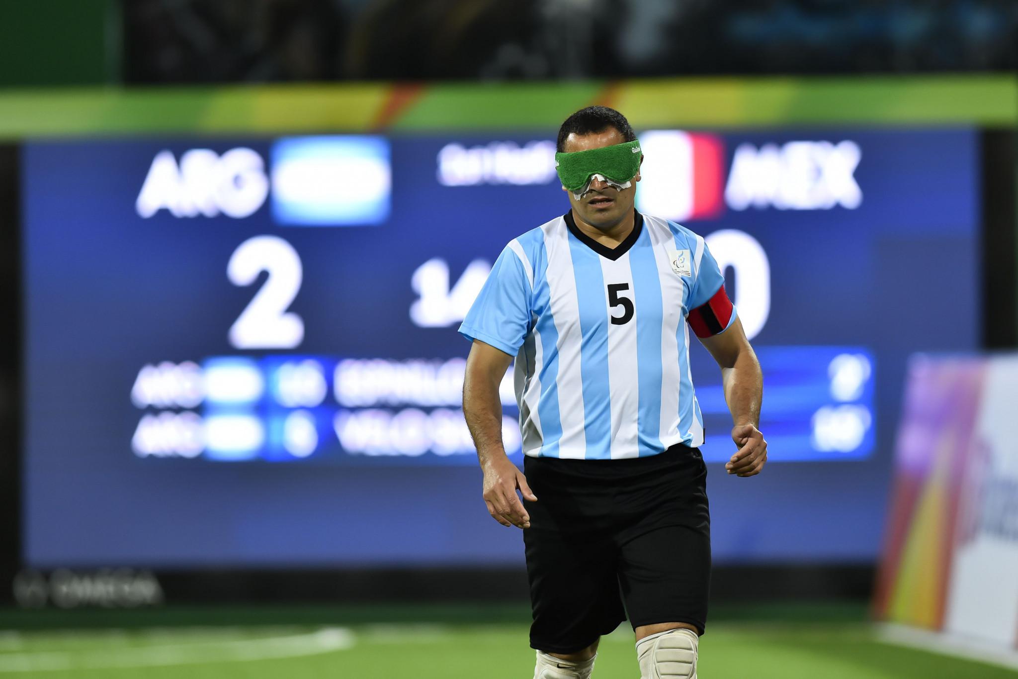 Argentinian blind footballer Velo named IPC Athlete of the Month for December