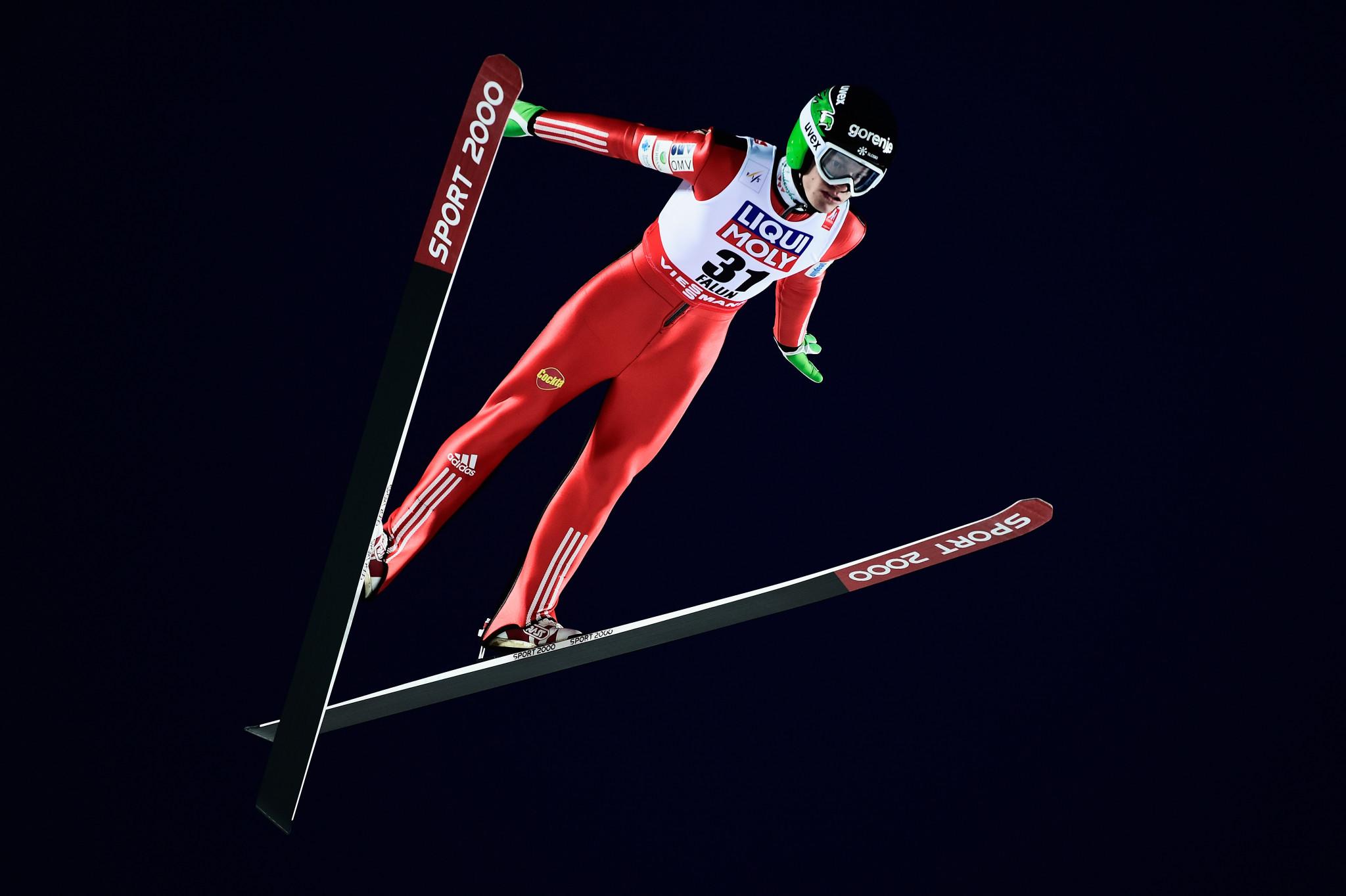 Ski jumper Pungertar announces retirement