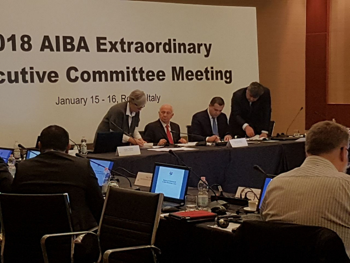 Interim AIBA President Falcinelli rules out running for role on permanent basis