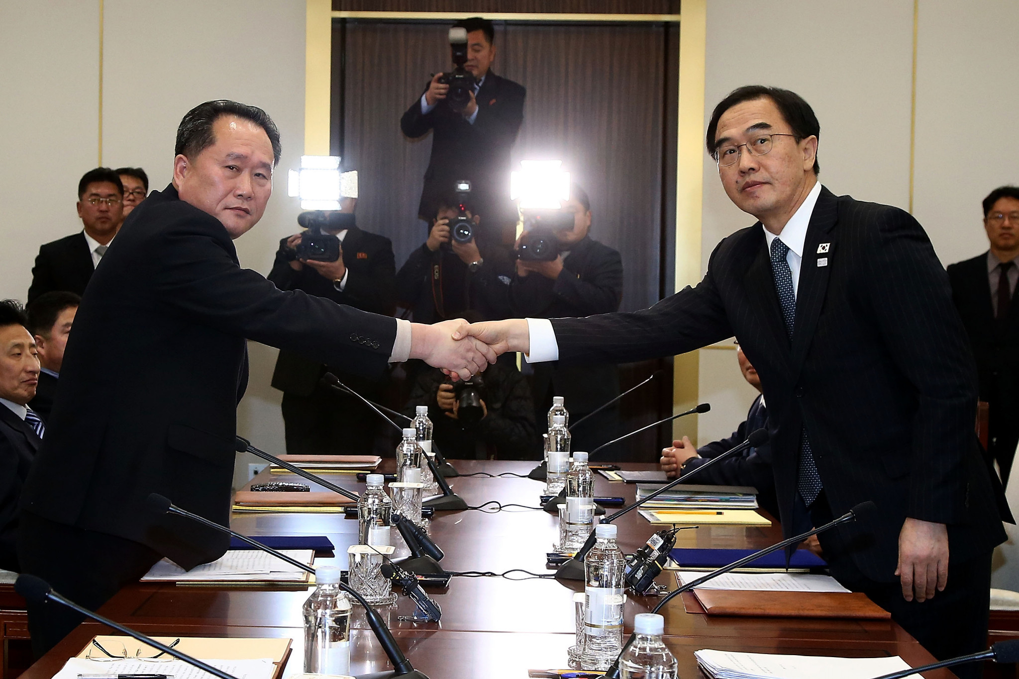 Koreas to march together at Pyeongchang 2018 Opening Ceremony