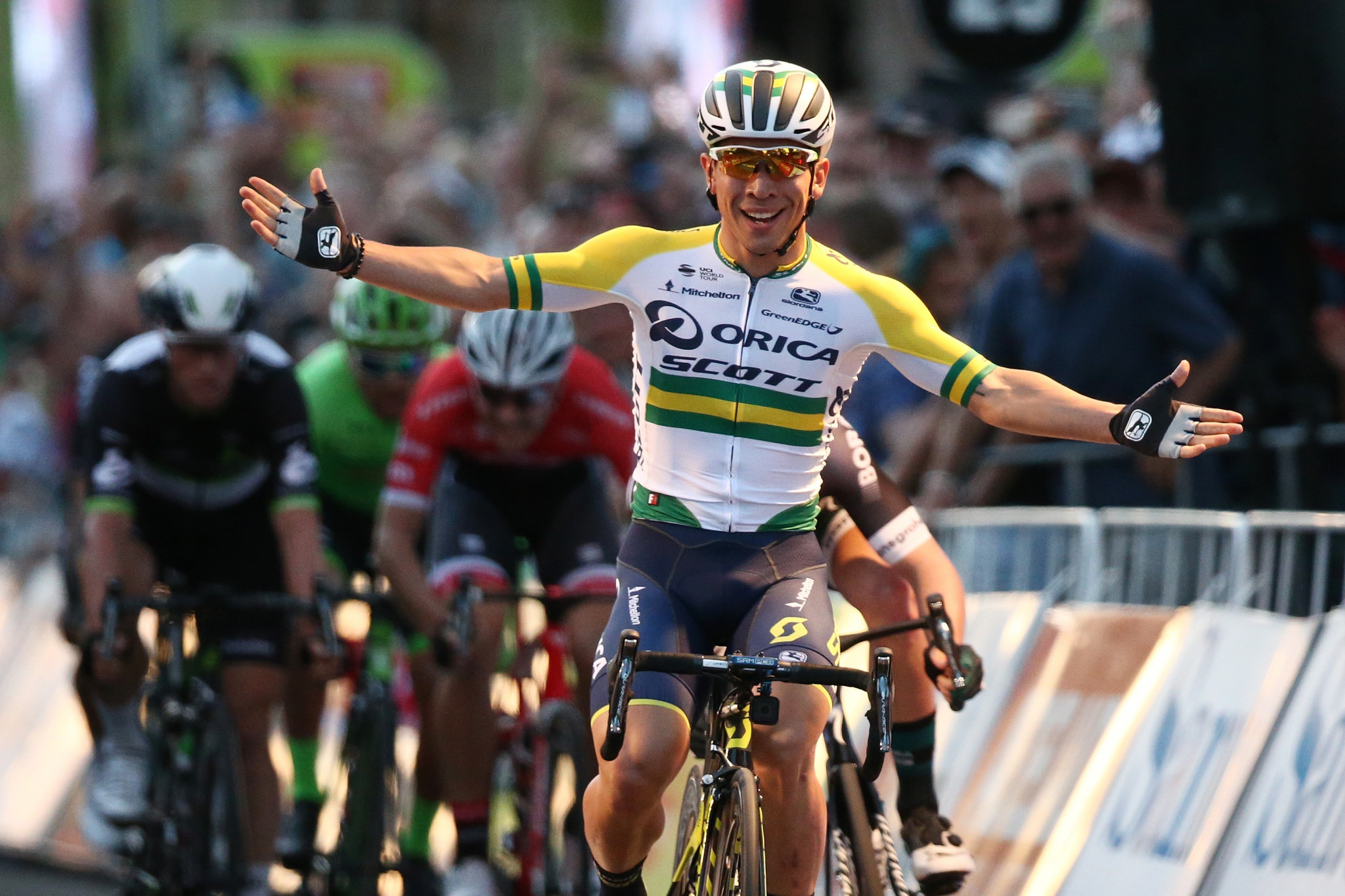 Ewan claims stage two win at Tour Down Under