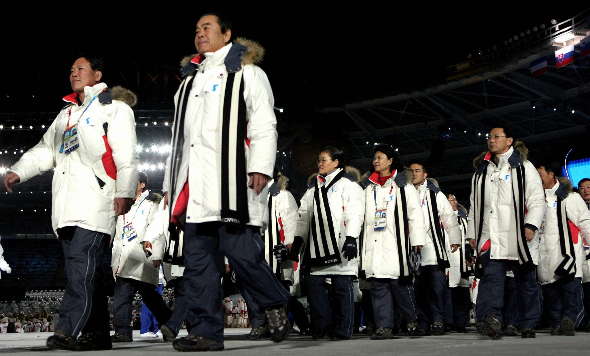 The two Koreas last marched together at an international event at the 2006 Winter Olympics in Turin ©Getty Images