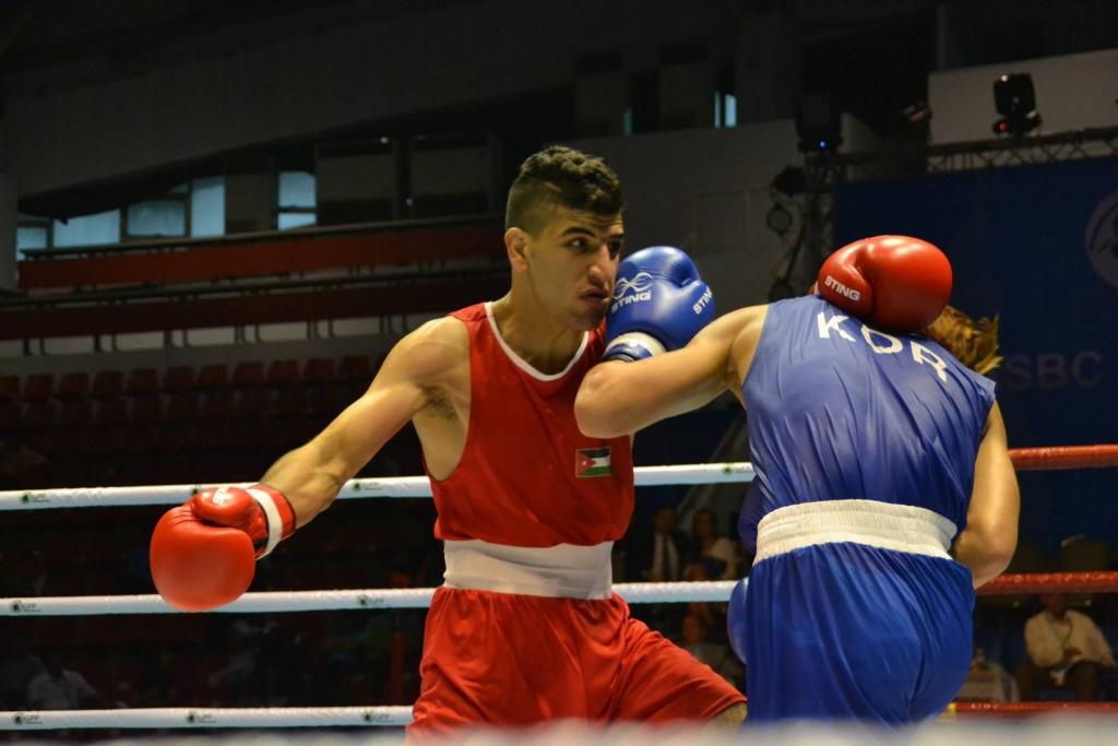 Jordanian makes successful start to lightweight gold medal bid at ASBC Asian Confederation Boxing Championships