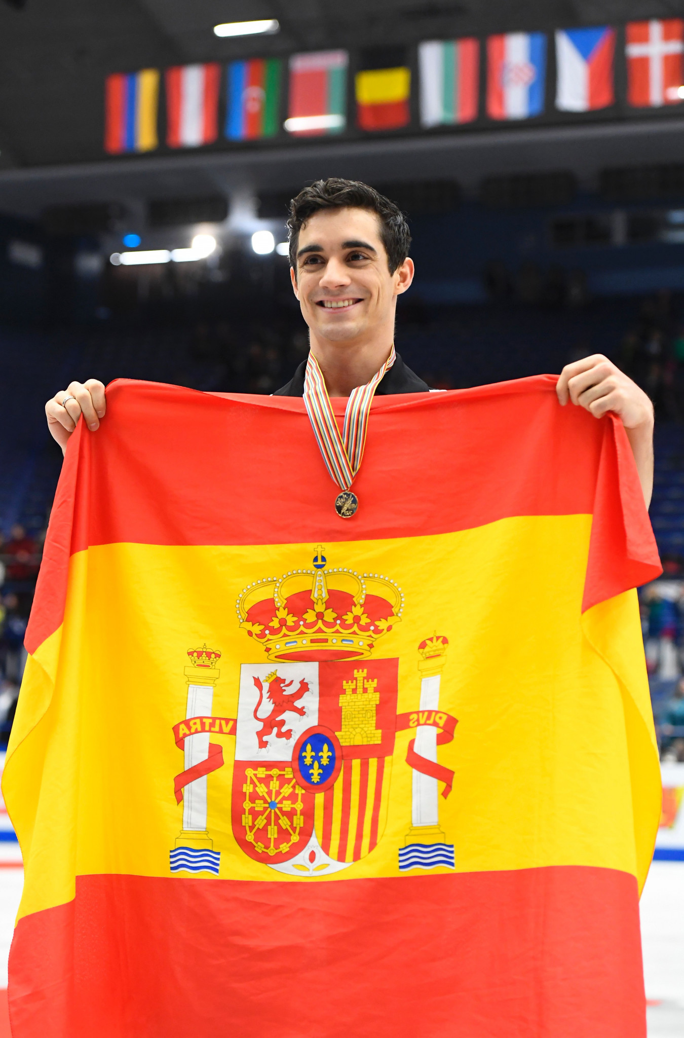 Javier Fernandez has won the last five European Figure Skating Championships men's titles ©Getty Images