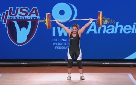 Second positive for Albanian weightlifter means Mattie Rogers set move up to World Championships silver