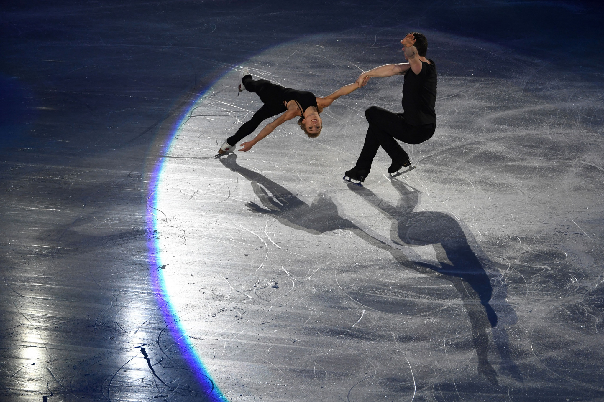 Two-time World Championship pairs skaters medallists Aljona Savchenko and Bruno Massot have been selected by Germany for Pyeongchang 2018 ©Getty Images