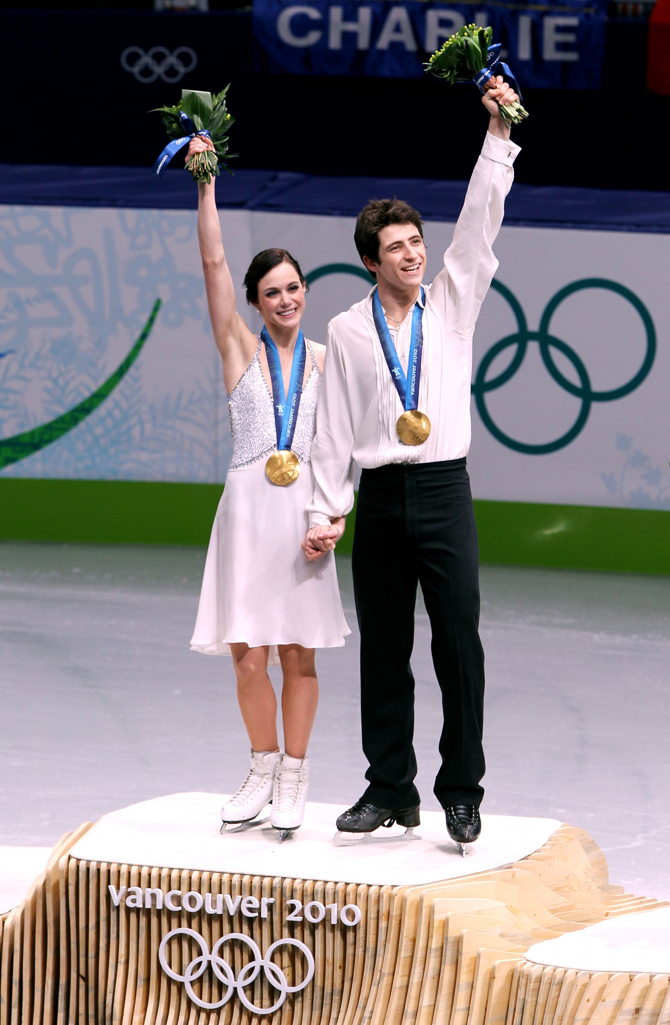 Tessa Virtue and Scott Moir won Olympic gold medals on home ice at Vancouver 2010 ©Getty Images