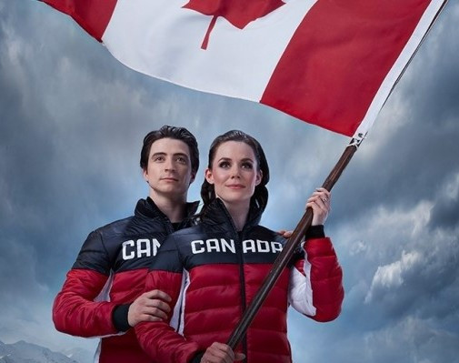 Tessa Virtue and Scott Moir will become the first-ever pair to lead the Canadian team at an Olympic Opening Ceremony ©COC