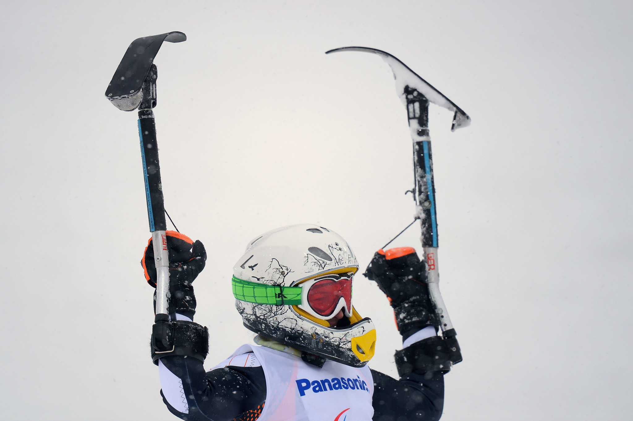 German beats Austrian favourite to surprise gold at World Para Alpine Skiing World Cup