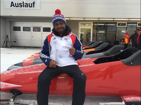 Britain's Corie Mapp clinched victory in Innsbruck today ©bajanjoe