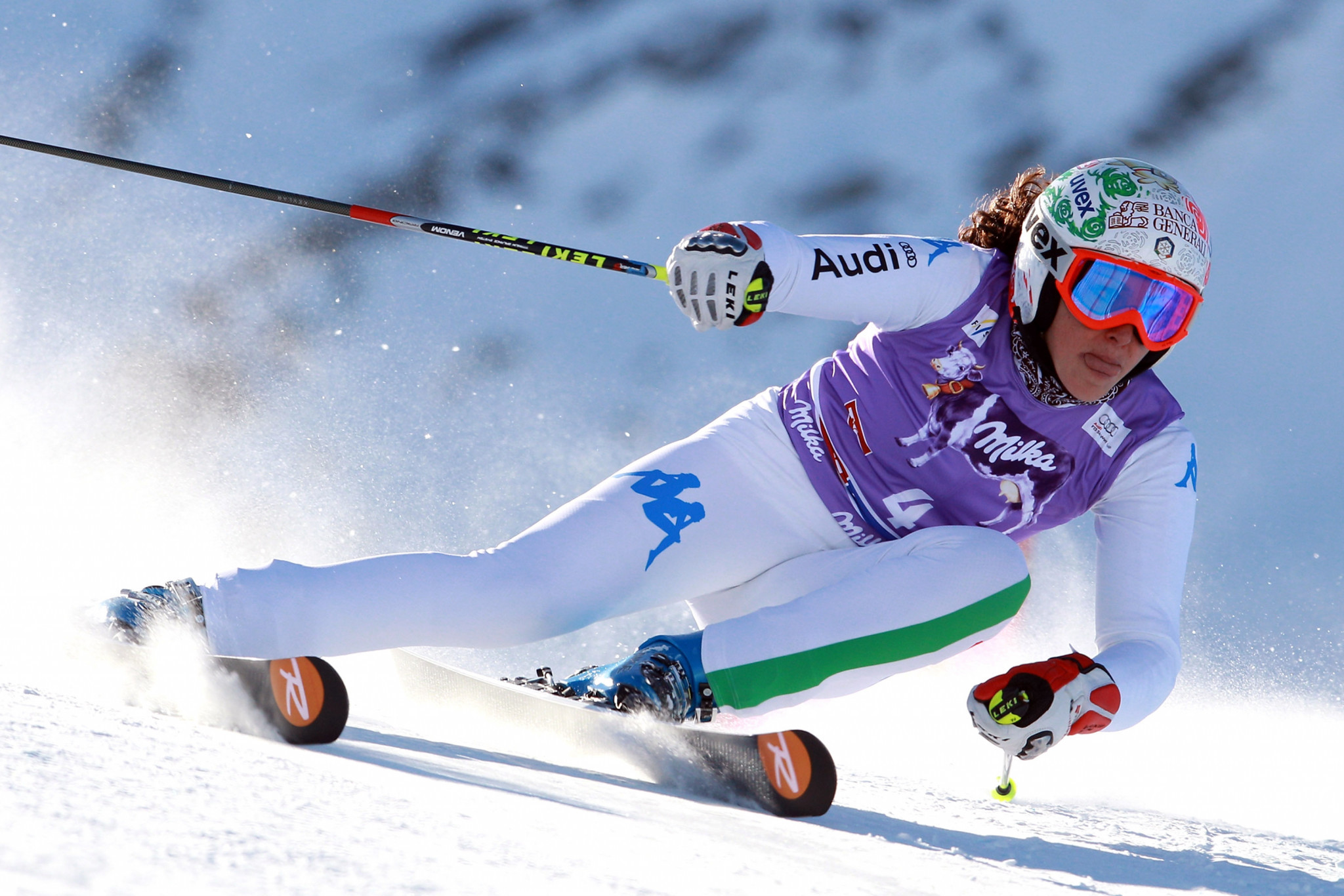 Federica Brignone has been in excellent form going into the World Cup event in Cortina d'Ampezzo ©Getty Images