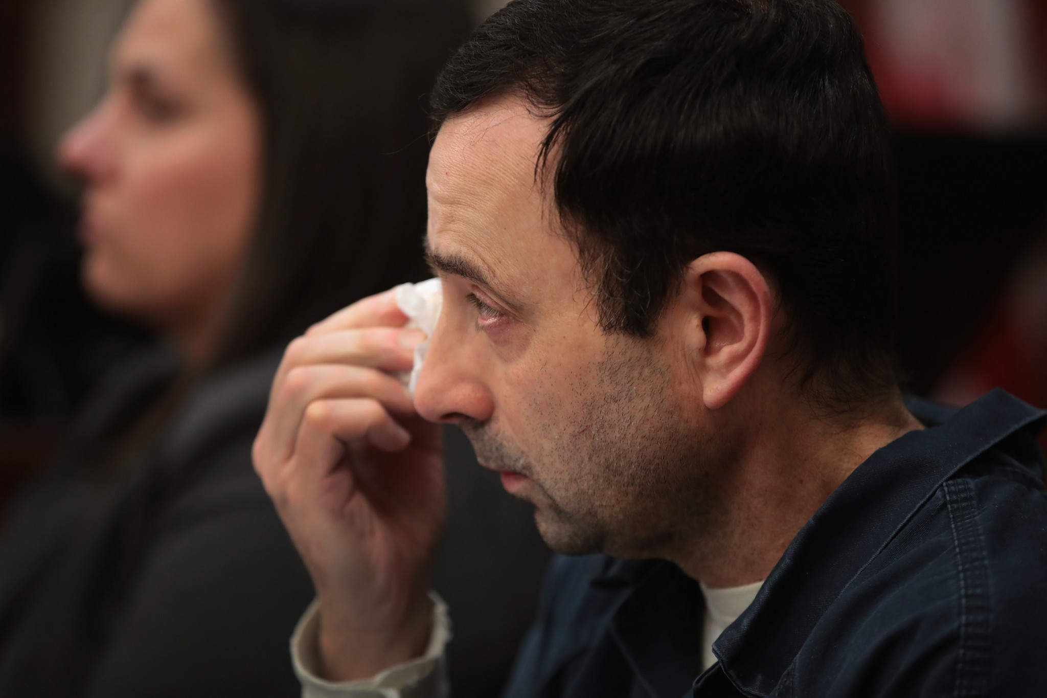 Larry Nassar has been blasted by a judge at his sentencing hearing ©Getty Images