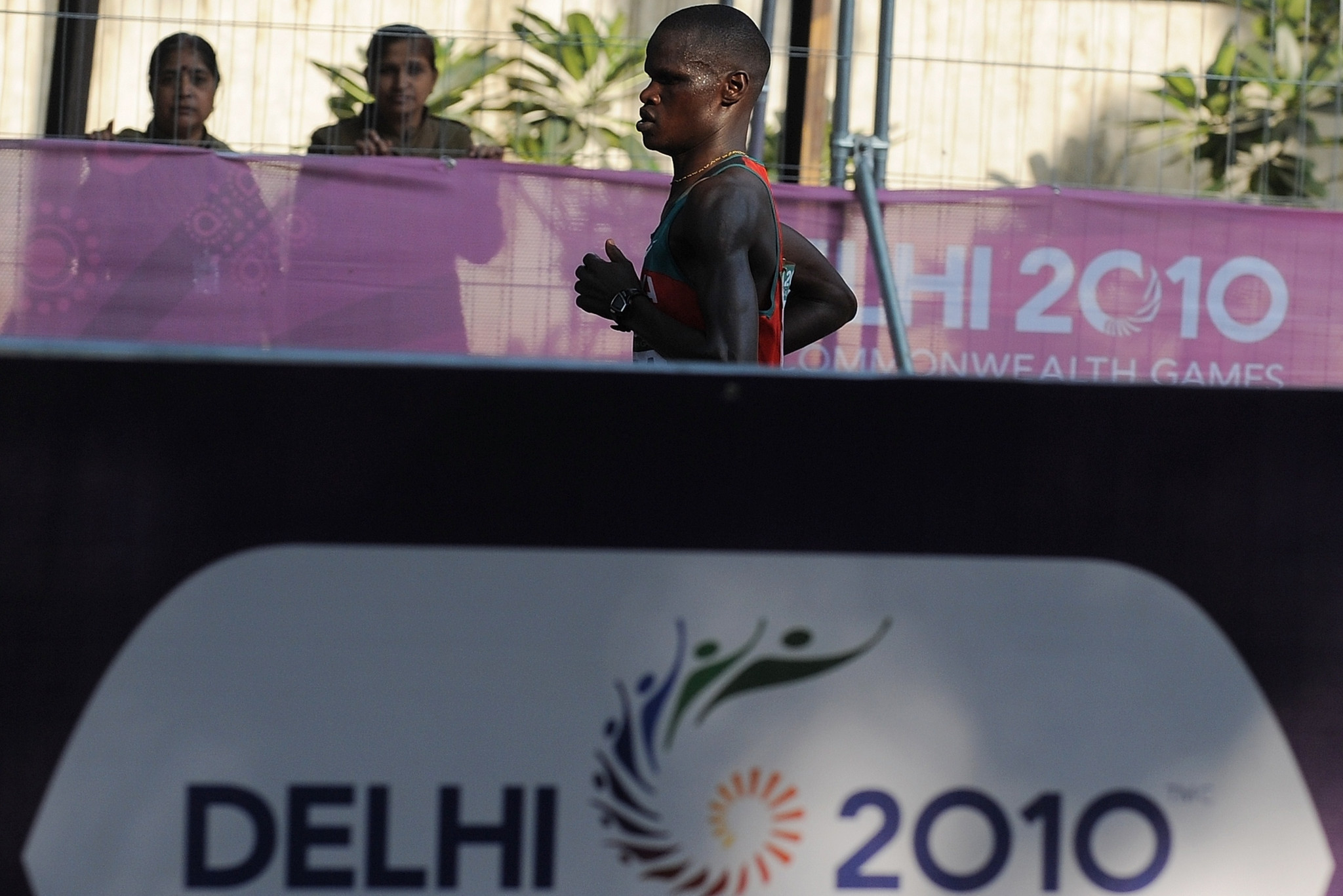 John Kelai was the last Kenyan man to win the Commonwealth Games marathon at Delhi 2010 ©Getty Images