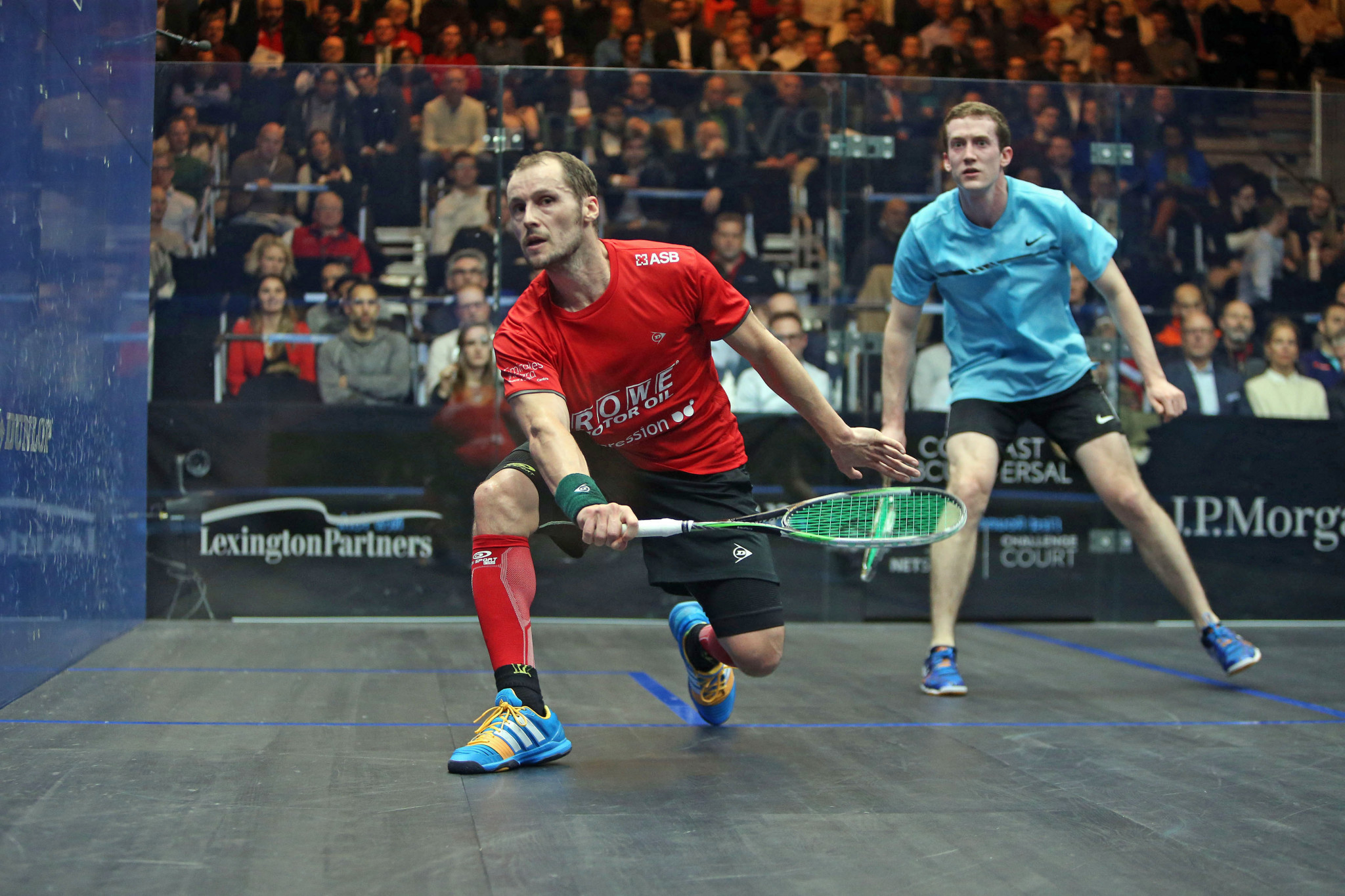 Gaultier safely through to second round at PSA Tournament of Champions in 700th match of career