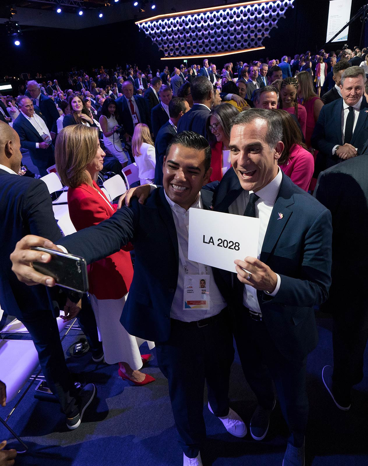 Los Angeles 2028 is to receive quarterly payments of $9 million from the IOC for the next five years as part of the Host City Contract to help support community projects ©IOC