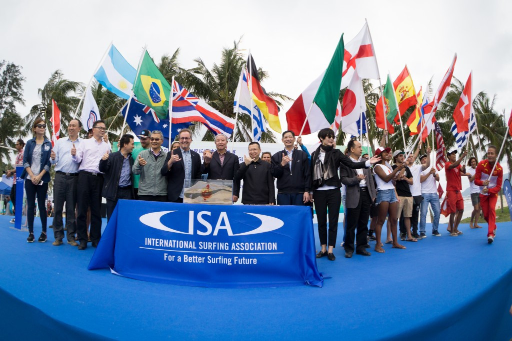 IOC vice-president opens ISA World Longboard Surfing Championships in China