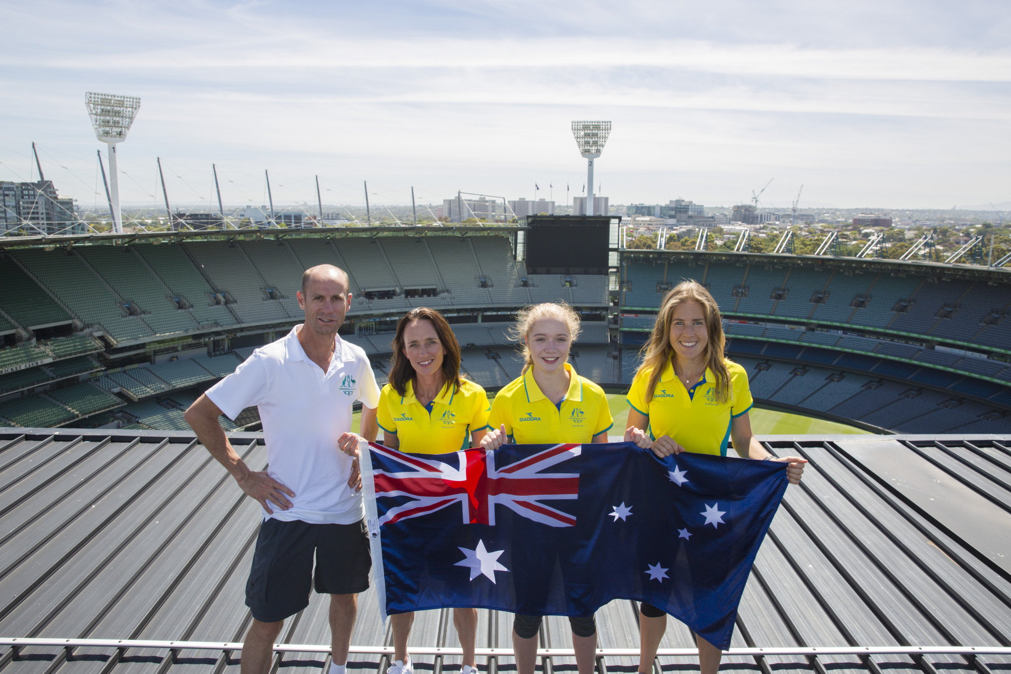Australia has named the first 14 competitors on their athletics squad for Gold Coast 2018 ©CGA