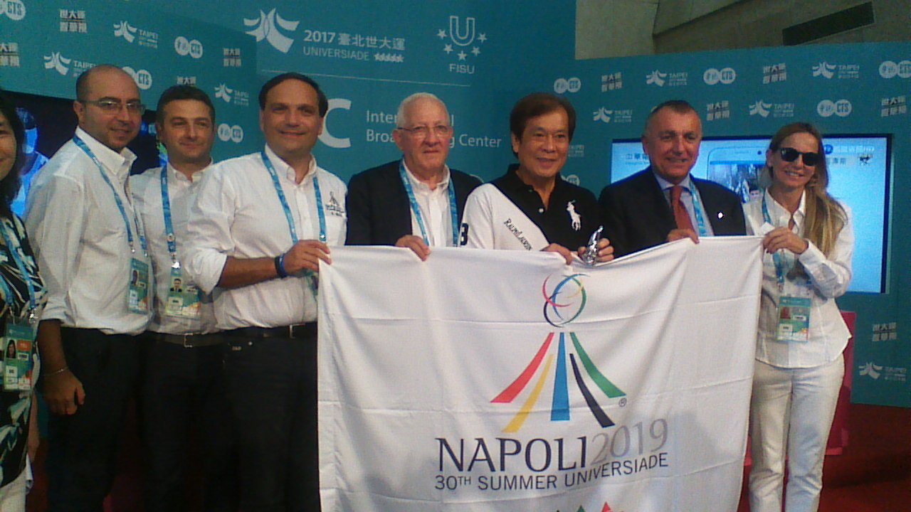 First 50 countries express interest in Naples 2019 participation
